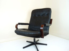 Patchwork-Leather-Chairs