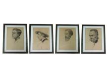 Charcoal-Portraits