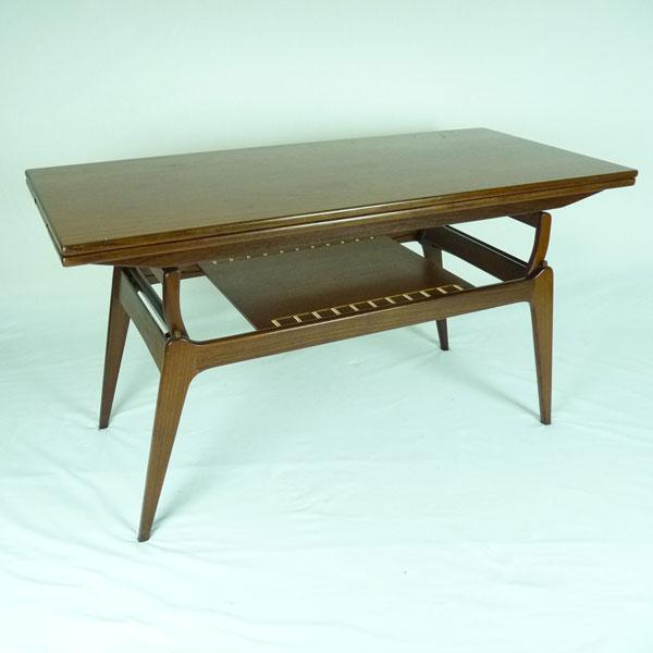 Danish Metamorphic Coffee Table 4541 Mid Century Furniture Vintage And Retro Design