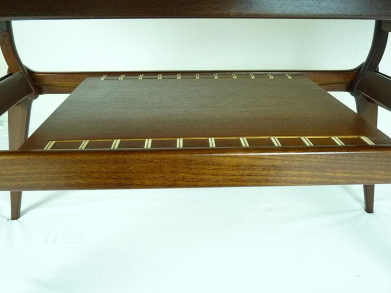 Danish Metamorphic Coffee Table 4541 Mid Century